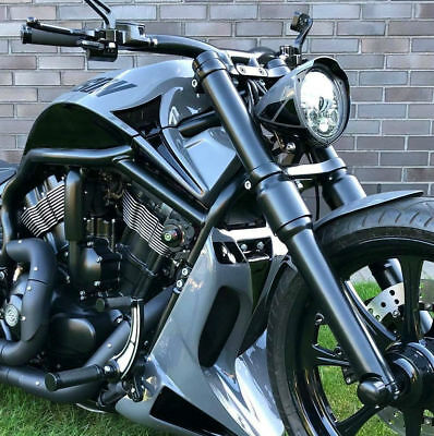 "HD V-ROD  ""GR Stealth"" Air Box Cover Fits ALL Years!"