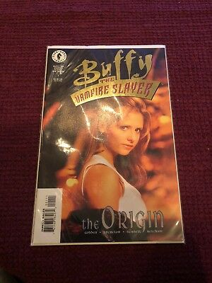 Buffy The Vampire Slayer Dark Horse Comics #1 Gold Foil Edition With Certificate