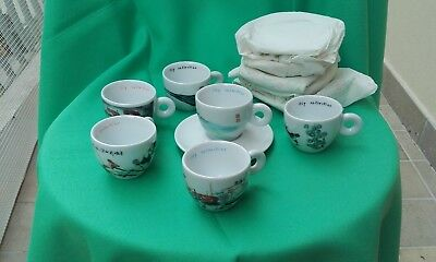 Illy Collection 1995 Tazzine Caffe'  Serie China  An Du