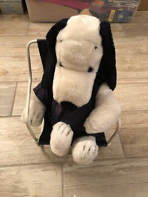Snoopy Plush With Chair And Clothes