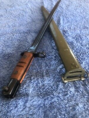Bayonet M1917 Enfield with scabbard