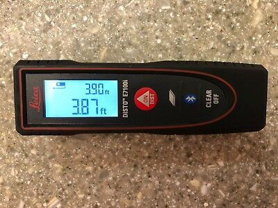 Leica DISTO E7100i 200ft Laser Distance Measure with Bluetooth, w/ FREE SHIPPING