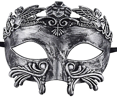 KEFAN Ancient Greek Roman Masquerade Mask for Men Venetian Mardi Gras...