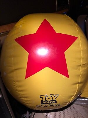 Toy Story Land Inflatable Beach Ball - New In Package; From Disney World - Pixar