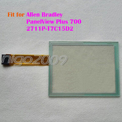 for AB Allen Bradley PanelView Plus 700 2711P-T7C15D2 Touch Screen Glass New
