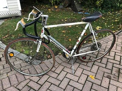 VINTAGE PEUGEOT RACING bicycle Frame 57cm Orange & Silver