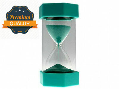 tink n stink Large 4 Minute Sand Egg Timer Size 16cm Turquoise