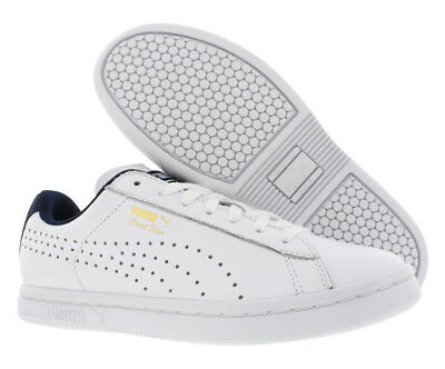 PUMA COURT STAR CRFTD Trainers Leather White Sneakers 359977 Mens US ... 73e632f08