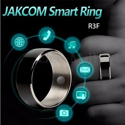 JAKCOM R3F Black NFC Magic Wearable Smart Ring For iPhone Android Mobile Phone