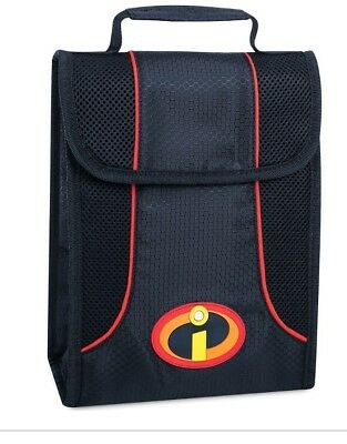 NEW Disney Store Incredibles 2  Lunch Box Tote Bag School 2018