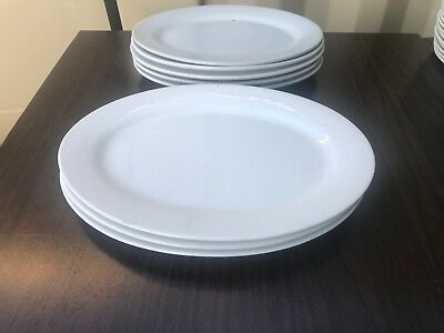 Oval Plate Dinner Entree Serving 300mm Long x 215mm Wide ST Brand Made in China