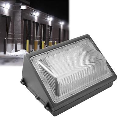 LED Wall Pack Light - 60W 5000K Commercial Outdoor Lamp Fixture (Dusk to Dawn)
