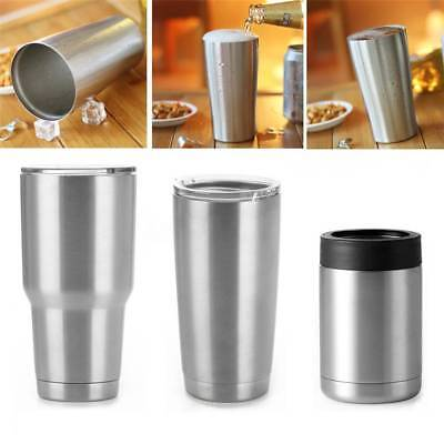 10/20/30oz Sizes Stainless Steel Vacuum Insulated Tumbler Travel Double Wall Cup