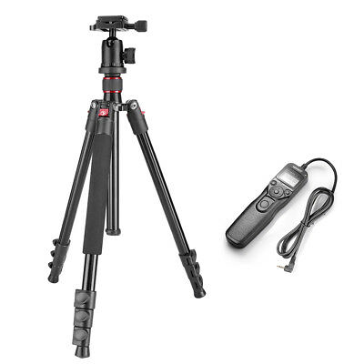 """Neewer 62"""" Camera Tripod and Shutter Release Control Cord for Canon EOS 60D 300D"""