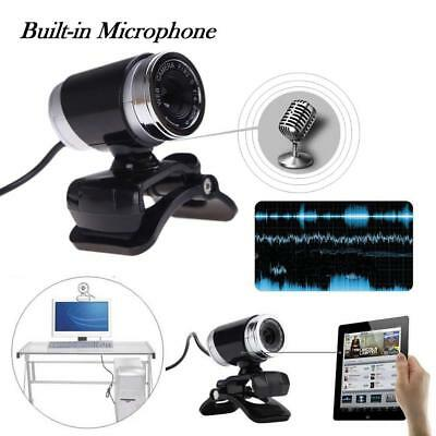 USB 50MP HD Webcam Web Camera with MIC for Computer PC Laptop Desktop Black WT