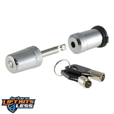 CURT 23541 Chrome Coupler Lock ALL Non-Spec Vehicle ALL Base