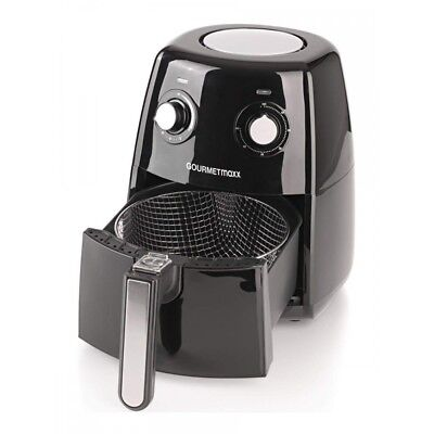 GOURMETmaxx Heißluft-Fritteuse 7026 Air-Fryer 1500 Watt 2,5 Liter bis 200 °C