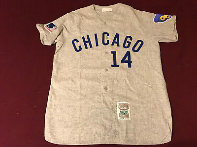 e2ce4e2a27b Ernie Banks Authentic Mitchell   Ness 1969 Chicago Cubs retro jersey Size  Large