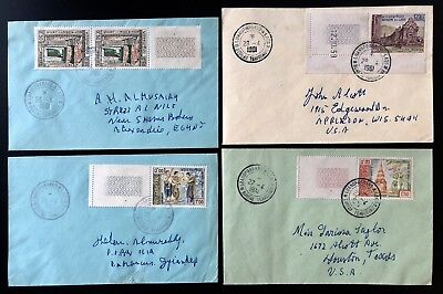 Laos Lao Indochina 6 Cover Letter Lettre France Very Fine