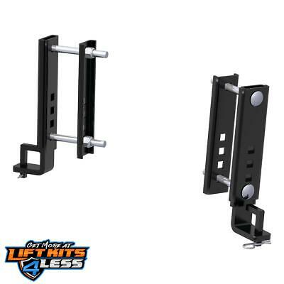 "CURT 17508 Rplcmnt Trutrack 6"" Adjustable Support Brackets ALL Non-Spec Vehicle"