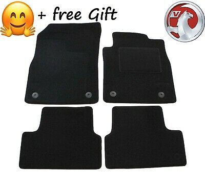Carsio Tailored Carpet Car Floor Mats with logo FOR Vauxhall Astra H MK5 2004 to 2010