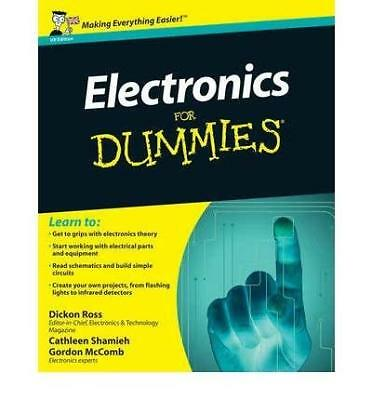 Electronics For Dummies by Dickon Ross New Paperback Book