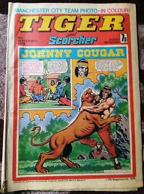 Tiger & Scorcher Comic (1976)