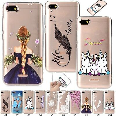 Transparent Rubber TPU Case Cover For Samsung Galaxy J4 J6 Plus Huawei Honor 8X