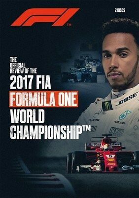 FIA Formula One World Championship - Official review 2017 (New 2 DVD set) F1