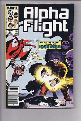 High Grade Canadian Newsstand Edition $0.95 Price Alpha Flight #31