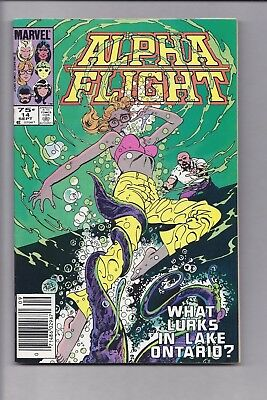 High Grade Canadian Newsstand Edition $0.75 Price Alpha Flight #14