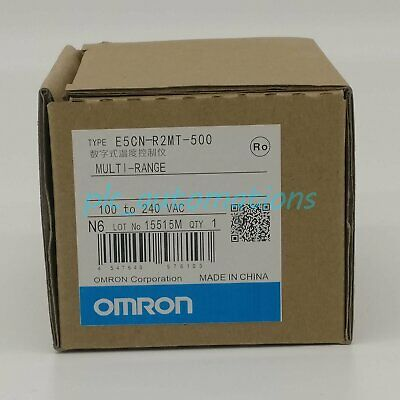 100/% NEW Omron E5CN-R1TU 100-240VAC Temperature Controller IN BOX