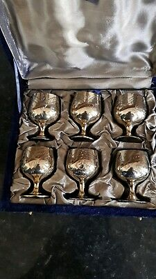 Antique Silver Plate Cups