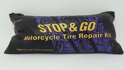 Stop and Go tire repair kit for all motorcycles tire irons travel
