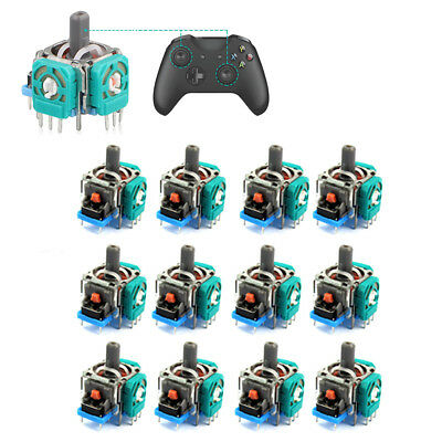 12PCS Analog Stick Joystick Replacement For XBox One PS4 Dualshock 4 Controller