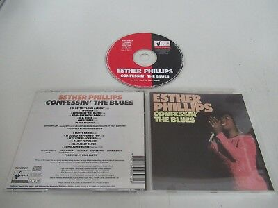 Esther Philips/Confessin' The Blues(Sequel Rsacd 807) Cd Album