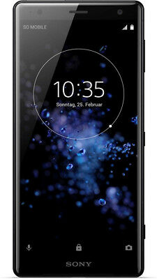 Sony Xperia XZ2 Single Sim Liquid Black, Generalüberholt
