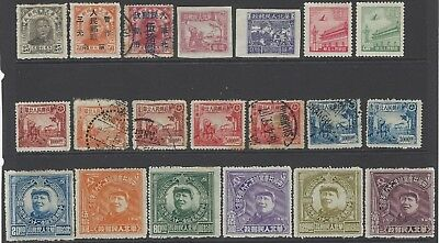 CHINA NORTH LIBERATED AREA 1949-1950 collection of early stamps, mint & used