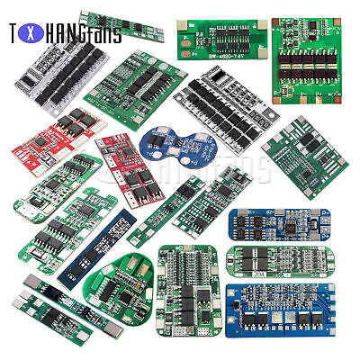 2/3/4/6S Li-ion Lithium Battery 18650 Charger BMS PCB Protection Board 7.4V-24V