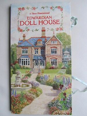A Three Dimensional Edwardian Doll House pop up book 1995