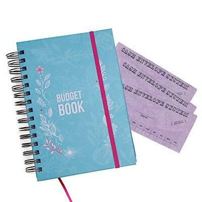 Bill Organizer Budget Planner Book BONUS 3 Cash Envelopes Expense Tracker Notes