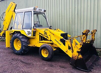 Jcb 3cx Excavator Digger Machine with Quick Hitch 6 Buckets Like Tractor