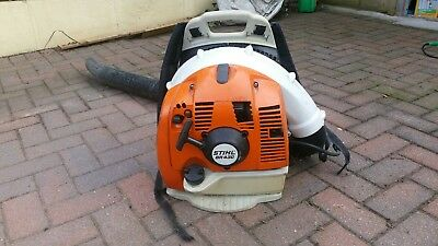 stihl backpack leaf blower very clean machine nicely padded for comfort.