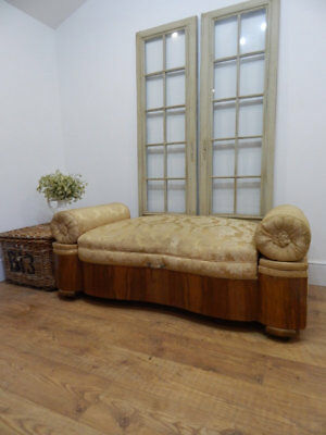 Large Art Deco stool / daybed