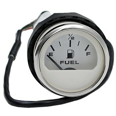 FARIA BOAT FUEL Gauge GPC029A | 2 Inch White - $32.35 | PicClick on faria tach wiring, water meter installation diagram, faria tachometer schematic, auto meter gps speedometer wiring diagram, nissan fuel system diagram, gas sending unit wiring diagram, aftermarket electronic speedometer wiring diagram, faria fuel gauge troubleshooting, boat fuel gauge diagram, 1967 pontiac tachometer wiring diagram, faria marine gauges wiring, fuel gauge circuit diagram, faria fuel sending units, ignition module wiring diagram,