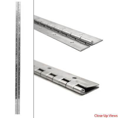 Tracker 84835 Ss 10 1//2 X 2 1//2 In 14 Gage Boat Piano Hinge Single