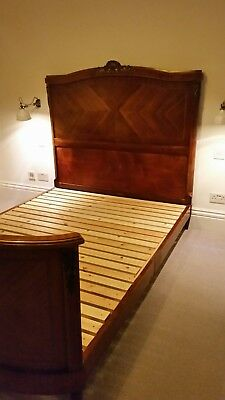 French Antique King Size Bed With Slats Lovely Design