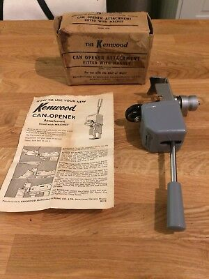 KENWOOD CHEF - Can Opener A778 - (Fits A700, A701a, A707 and A717).