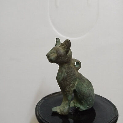 Bast Egyptian Antiques Cat Goddess Figure Bronze Statue bastet ancient egypt