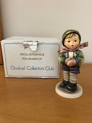 It's Cold 421 Exclusive Special Edition No. 6 2008 Hummel Goebel West Germany